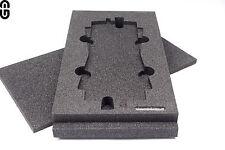 2HE Inlay für 2x Sennheiser A1031-U Antenne;foam Inlay;Schaumstoff Einlage;Modul