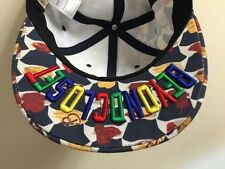 Beyond Closet Tae Yong Korea Hamburger Smiley Face SnapBack Baseball Cap Hat