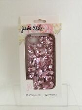 Jesse Steele Carrying Case for iPhone 5 Pink Jeweled