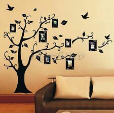 DIY Home Family Decor Photo Black Tree Removable Decal Wall Sticker Vinyl Art ##