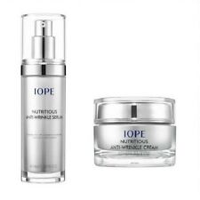 AMORE PACIFIC IOPE Nuritious Anti-Wrinkle Cream and  Serum With /Tracking No