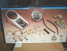 Late Dash Kit Harley Flh Softail Custom 68-95 Fatbob Cover Base Ignition Switch!