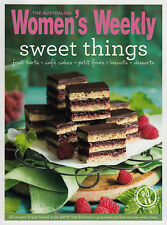 Sweet Things Fruit tarts cakes biscuits desserts The Australian WOMENS WEEKLY