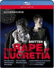 The Rape of Lucretia [Blu-ray], New Disc, Christine Rice, Fiona Shaw, Allan Clay