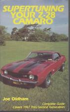 CHEVROLET CAMARO Z28 ( 1ST & 2ND GENERATION ) 1967- TUNING & MODIFICATION MANUAL