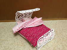 Barbie Doll Fashion Fever Sweet Dream Bed Room Bedroom Furniture Fitted Sheet