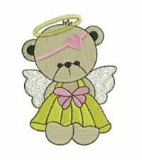 1133:  Machine Embroidery Designs - Precious Angel Bears