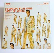 (M)ELVIS PRESLEY 50,000,000 Elvis Fans Can't Be Wrong LP-LSP-2075(e) Stereo Mono