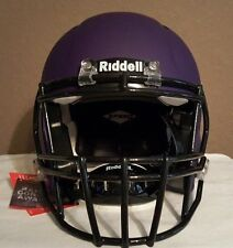 2016 Riddell Flat Purple Speed Helmet in Adult Size Large