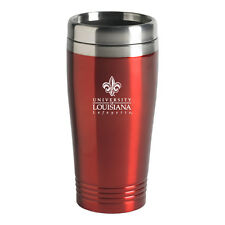 University of Louisiana at Lafayette - 16-ounce Travel Mug Tumbler - Red