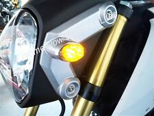 Honda Grom MSX125 Front LED Turn Signal Kit w/ LED Flasher Relay - Clear Lens
