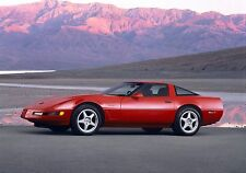 1995 Corvette ZR1 red Poster 24 x 36 inch | ready to ship
