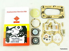 WEBER 32/36 DGAV CARB/CARBURETTOR SERVICE KIT WE444FR WITH 5mm BASE GASKET BLOCK