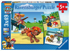 09239 Ravensburger Paw Patrol Jigsaws 3 x 49pcs Puzzles Children Kids Age 5+