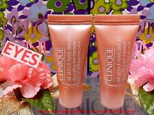 """2 x Clinique All About Eyes Serum◆5ml◆Skincare Eyes Dark Circles """" FREE POST!! """""""