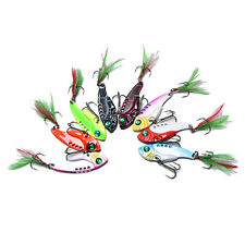 fishing lures set spoon Metal VIB sequins hard bait bass vibration crankbait HU