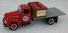 First Gear 1951 Ford F-6 Half Rack Stake Truck  RED CROWN GASOLINE 19-1631