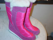 Timberland Juniors 5694R Winter Carnival Tall Girls Berry Boots! Size 6Y