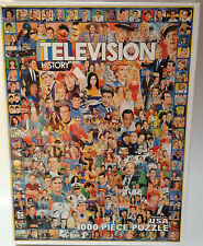 Television History 1000 Large Piece Jigsaw Puzzle Retro TV Shows Characters