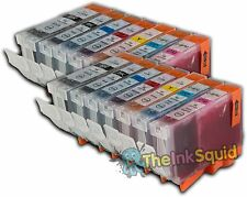 14 Canon PGI-5 CLI-8 Chipped Compatible Ink Cartridges