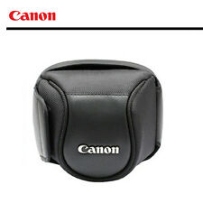 CANON Leather CASE for PowerShot SX60HS, SX50HS, SX530HS, SX520HS Camera Case