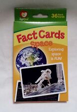 Apple Seed Exploring Space Fun Learning Fact Card Set