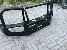 Mitsubishi L200 Rear & Front HD Heavy Duty Bumpers With Winch & Tow Bar Mount