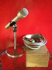 Vintage 1979 Electro Voice RE-50 dynamic microphone vocals w accessories Low Z