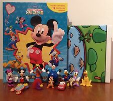 Disney Mickey Mouse Clubhouse Busy Book + 12 caracteres My figurillas & Playmat