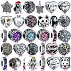 Crystal Jewelry  Beads Charms Sterling Fit 925 Silver Necklaces Bracelets Chains
