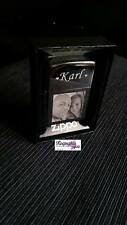 PHOTO & TEXT ENGRAVED GENUINE ZIPPO LIGHTER CHROME POLISHED - personalised  3
