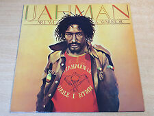 EX/EX- !! Ijahman Levi/Are We A Warrior/1985 Jahmani LP