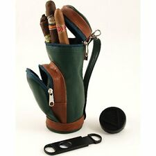 (9) Cigar Golf Bag Humidor W/Humidifier