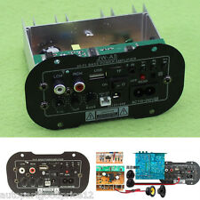 Universal 30W Car Subwoofer Hi-Fi Bass Power Amplifier Board TF USB 12V/24V/220V