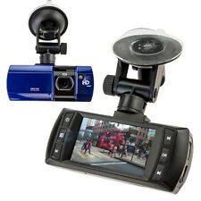 "2.7"" 180° 1080P HD Car DVR Vehicle Camera Video Recorder Dash Cam G-sensor Blue"