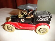 1918 FORD RUNABOUT BANK W/KEY FROM TEXACO - 1988