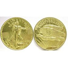 $20.00  DOLLAR GOLD PIECE JUMBO 3 INCH COIN - PAPERWEIGHT NEW # 70932