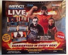 2013 Tristar TNA Impact Wrestling Live Factory Sealed Box 3 Auto 1 Relic 1 SP