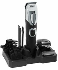 Wahl 9854-800 Deluxe Men All Over Hair Beard Shaver Clipper Trimmer Grooming Kit