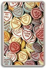 Love Hearts Sweets Fridge Magnet