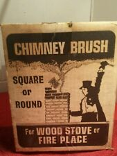 Vtg. Rutland Chimney Brush Wood Stoves Fireplaces Org.Item #35076