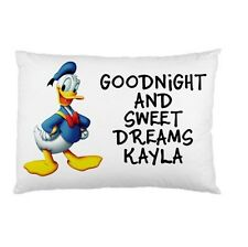 DONALD DUCK Personalized childrens kids BED pillow case