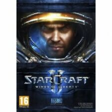 Starcraft ii 2 wings of liberty jeu pc & mac neuf