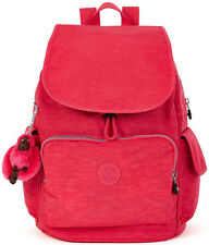 Kipling Ravier Medium Flapover Backpack BP3872 - Vibrant Pink