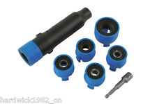 WHEEL STUD REPAIR AND CLEANING TOOL SET BRUSHES 12mm - 28mm USE WITH DRILL