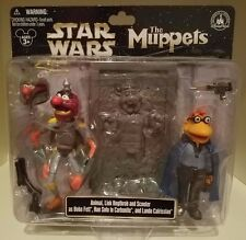 Star Wars Muppets Animal Link & Scooter as Boba Fett Lando & Han Solo Disney