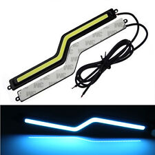 New HOT 2pcs Ice Blue COB LED  Daytime Running Light DRL Fog Driving Lamp