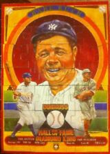 1981 Donruss Great Moments Babe Ruth Puzzle Set Nm/Mt