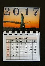 2017 - NY Photo Magnetic Calendar New York Fridge Magnet E