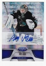 2011-12 NHL Panini Certified Mirror Blue Signatures #69 Antti Niemi SP #23/99